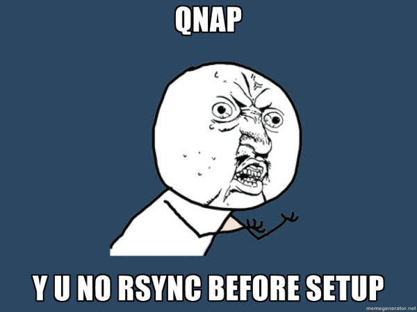 Recovering QNAP NAS lost data when NAS not starting properly