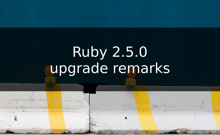 upgrade Archives - Running with Ruby